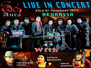 Aura Live In Concert Live In Akurassa 2017 Live Show Image