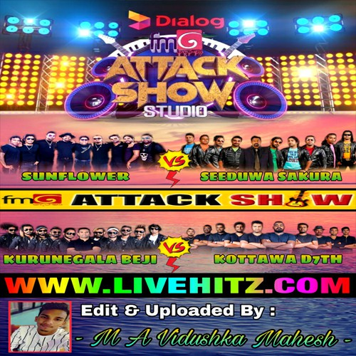 FM Derana Attack Show Studio With 4 Bands 2020-08-21 Live Show Image