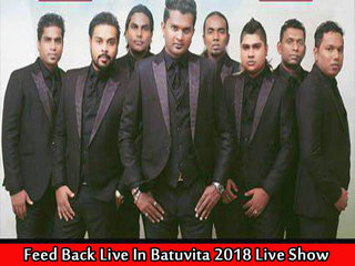 Feed Back Live In Batuvita 2018 Live Show Image