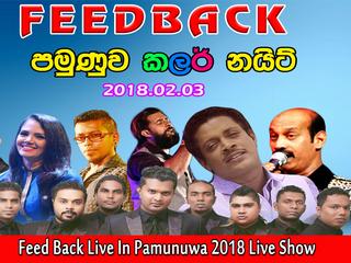 Feed Back Live In Pamunuwa 2018 Live Show Image