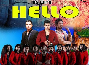 MG With Hello Live In Makavita 2019 Live Show Image