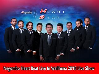 Negombo Heart Beat Live In Welihena 2018 Live Show Image