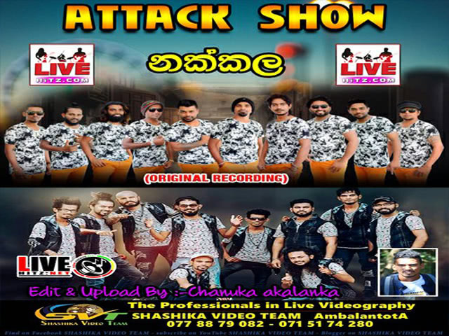 On Back Vs Delighted Attack Show Live In Nakkala 2019 Live Show Image