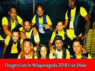 Oxygen Live In Nilpanagoda 2018 Live Show Image
