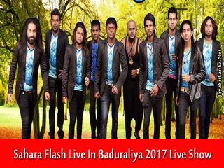 Sahara Flash Live In Baduraliya 2017 Live Show Image