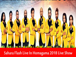 Sahara Flash Live In Homagama 2018 Live Show Image
