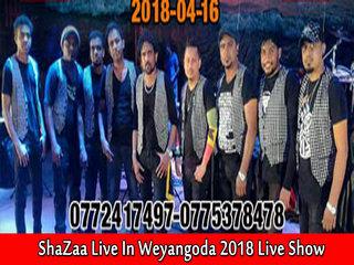 Shaazaa Live In Weyangoda 2018 Live Show Image