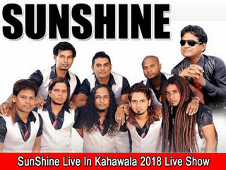 Sunshine Live In Kahawala 2018 Live Show Image