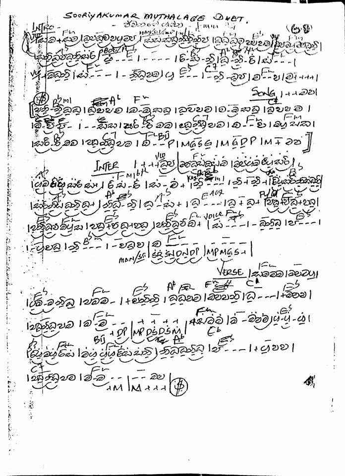 Download 338 Sinhala Song Notation Photo | Picture